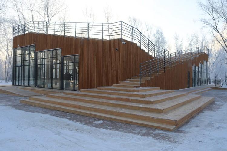 После Игр здание пустовало несколько месяцев. Фото: пресс-служба администрации Красноярска.