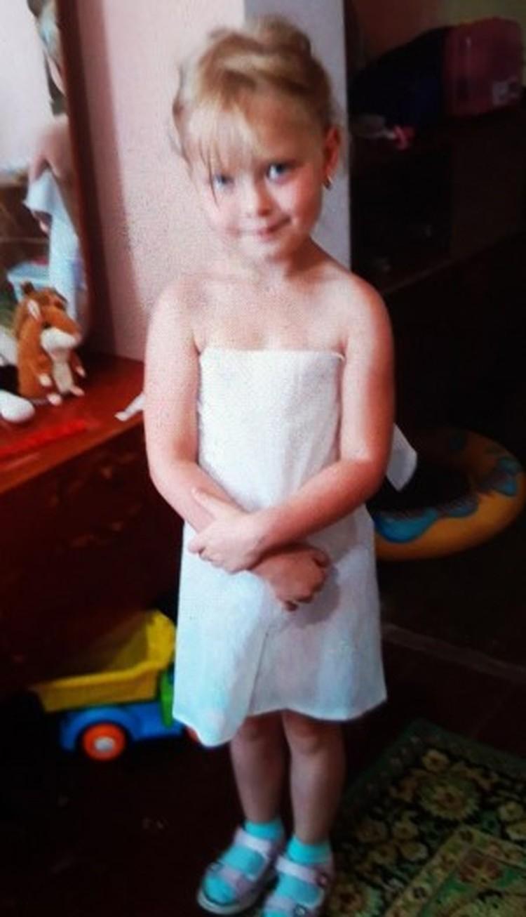Малышке 28 ноября исполнится шесть лет. Фото: пресс-служба МВД РК