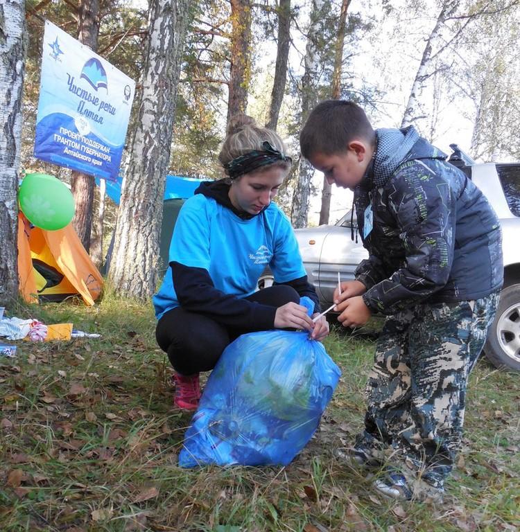 Участвовать в экоиграх нравится не только взрослым, но и детям Фото: vk.com/adimtur_ecology