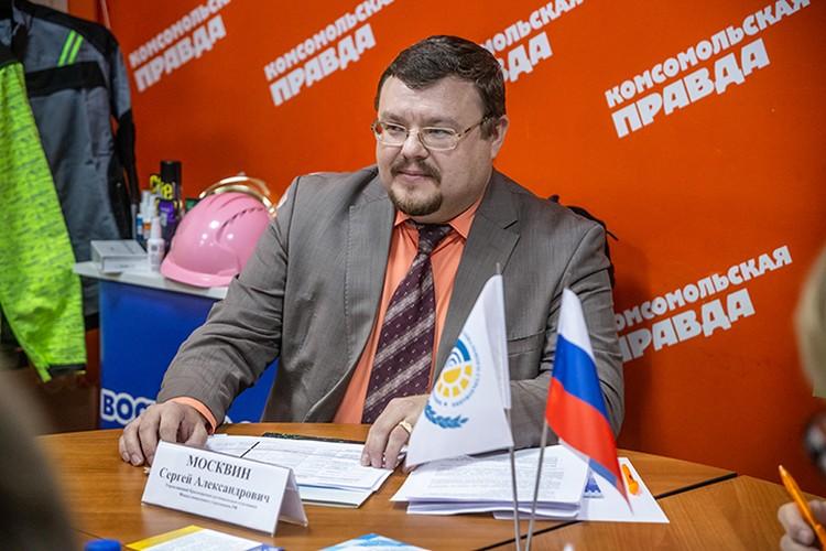 Управляющий Красноярским региональным отделением Фонда социального страхования РФ Сергей Москвин