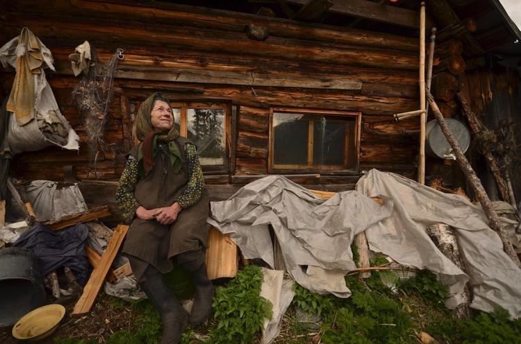 Хозяйство у Агафьи Лыковой не большое, но и не маленькое. Фото: Данил Барашков.