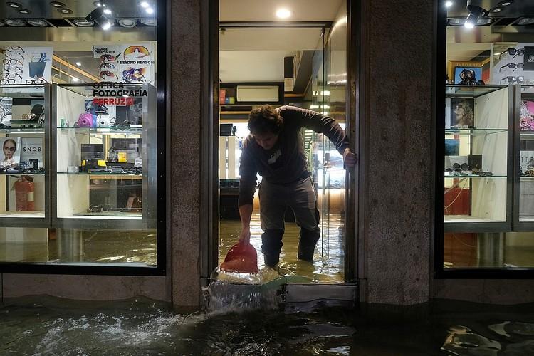 В Венеции – сильнейшее за 50 лет наводнение