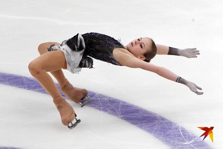 Александра Трусова сказала, что готова соревноваться с мужчинами
