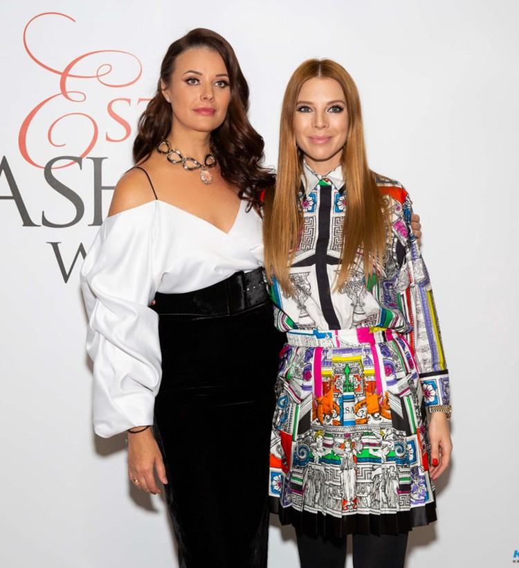 Наталья Подольская и Оксана Федорова обсудили не только модные новинки, но и обменялись новостями о своих детях