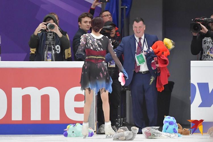 Евгения Медведева и Брайан Орсер