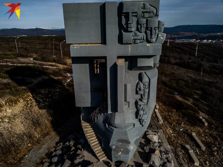 Монумент «Маска Скорби».