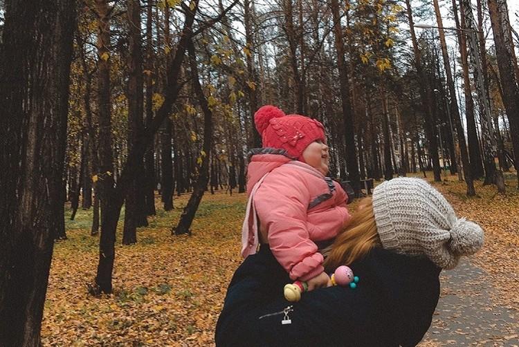 Сейчас Ульяна ходит в частный детский садик, но Полина надеется, что через год для ее дочки найдется место в государственном. Фото: СОЦСЕТИ