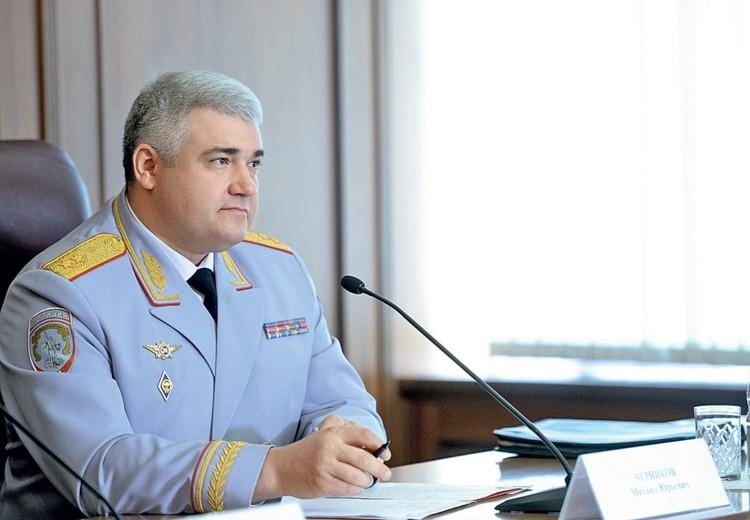 Начальник ГУОБДД МВД России генерал-лейтенант полиции Михаил Черников
