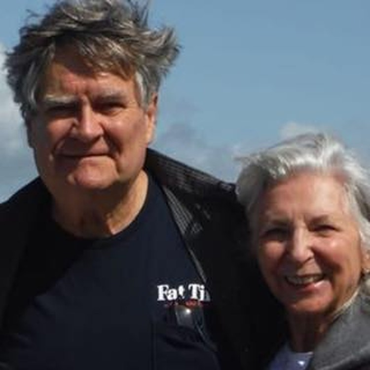 Профессор Ромозер с супругой - верят во внеземную жизнь.