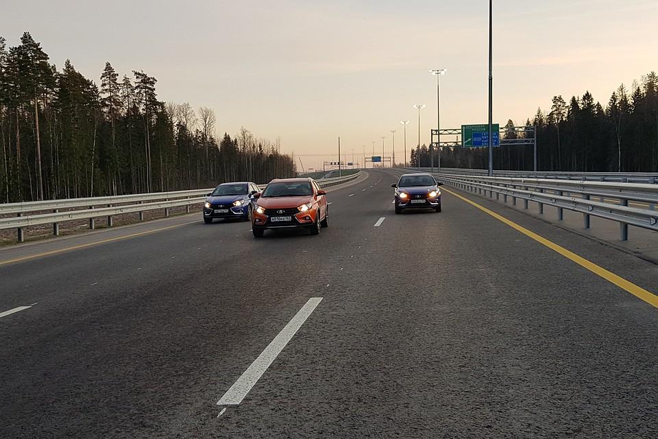 Успеть за шесть часов: корреспондент «КП» прокатилась по новой платной трассе М-11 из Москвы в Петербург