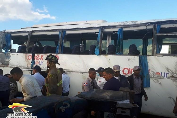 В ДТП с автобусом пострадало 27 российских туристов