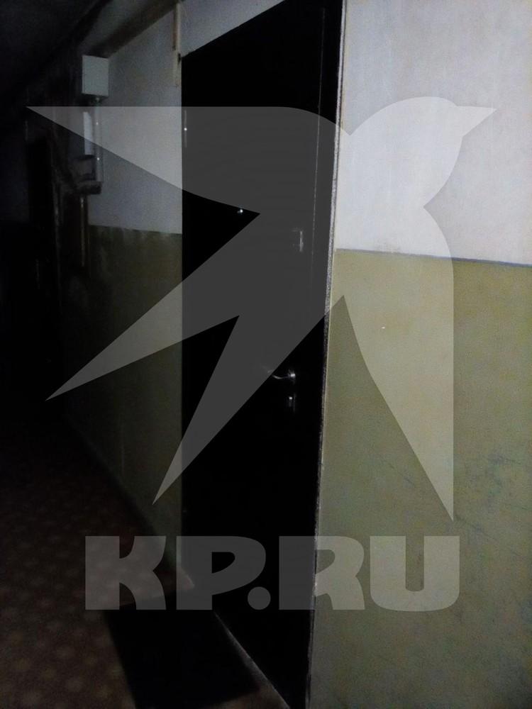 За этой дверью жила в Сочи Мария Клочкова