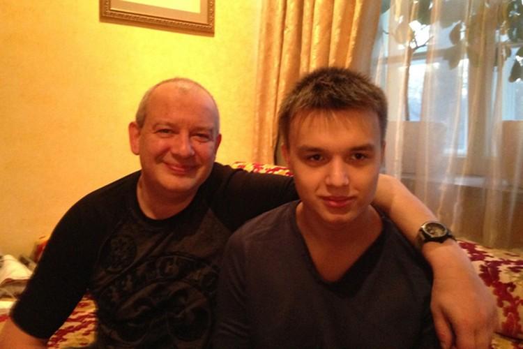 Дмитрий с сыном Даниилом