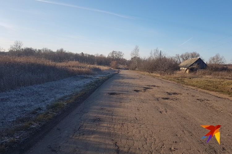 Живут в селе Катино около 300 человек. Зимовать остаются не больше сотни.