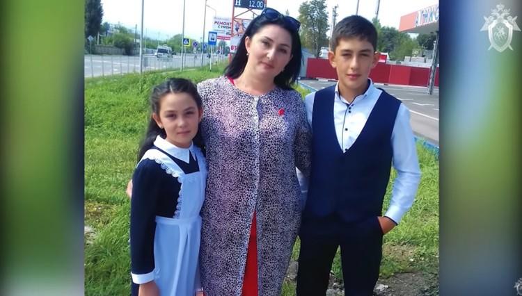 Тимур с семьей. Фото: СКР по Ставропольскому краю