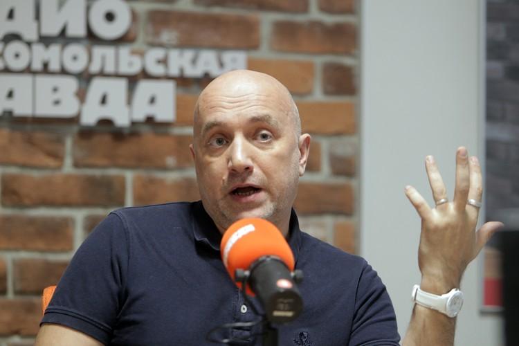Известный писатель объявил о создании своей партии и походе с ней на выборы в Госдуму в 2021 году.
