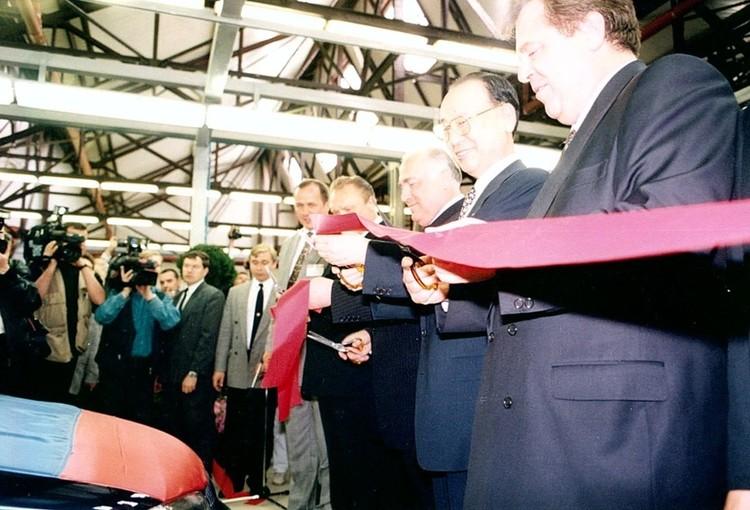17 мая 1997 года открытие завода АВТОТОР посетил председатель Правительства России Виктор Черномырдин.