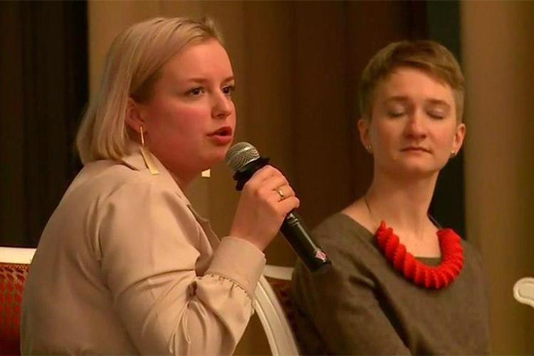 Другие выступающие не оценили мат чиновницы Фото: Тайны Ленинградского двора