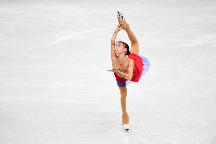 Анна Щербакова заняла второе место.