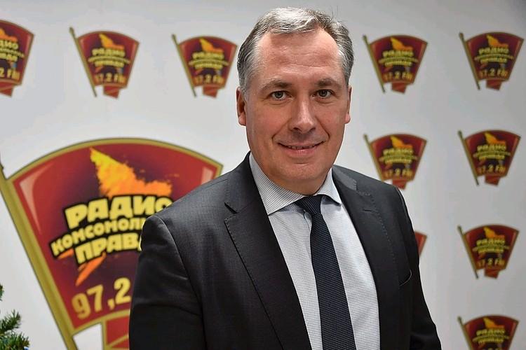 Президент ОКР Станислав Поздняков.