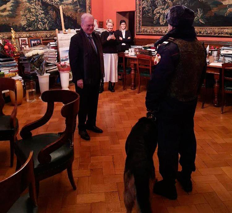 Директор Эрмитажа Михаил Пиотровский 9 декабря отмечает 75-летие. Фото: пресс-служба Эрмитажа