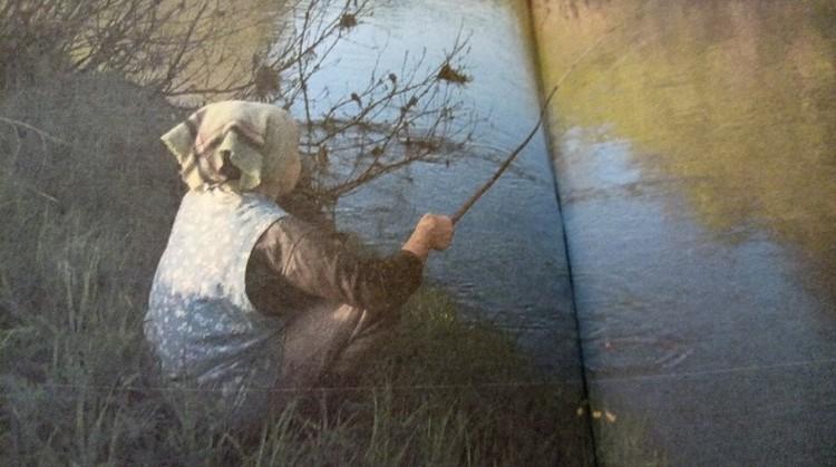 На рыбалке. Фотографии для книги сделаны Дианой Никитиной.