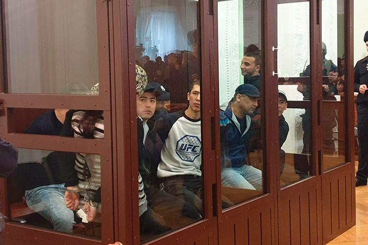 Один из обвиняемых в подготовке теракта в Петербурге получил пожизненный срок. Фото: Объединенная пресс-служба судов Петербурга.