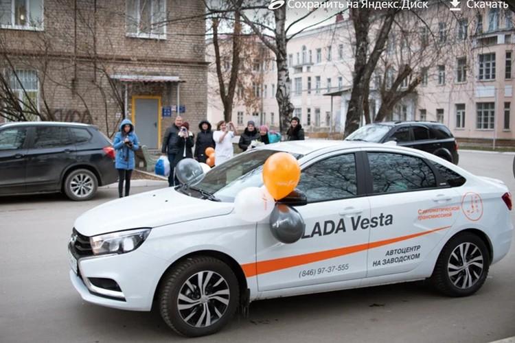 LADA Vesta SW Cross пользуется спросом у семей с детьми.