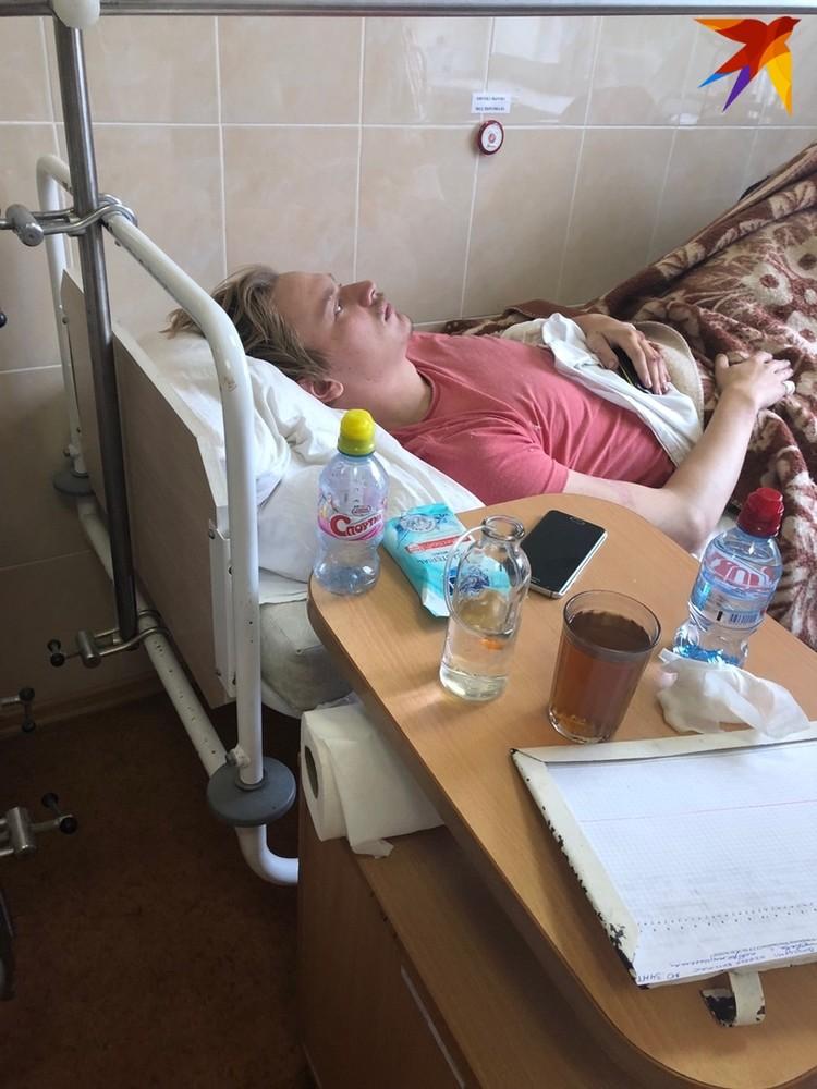 После больницы Глеб отправился домой, а его друг Вова - в СИЗО