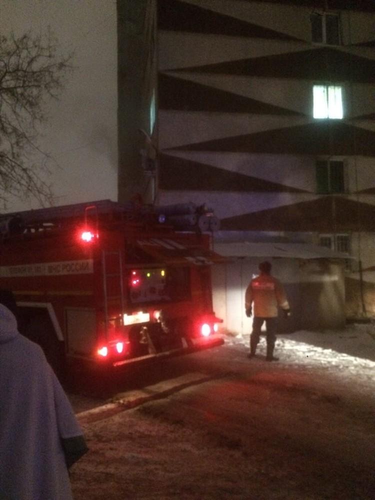 В результате пожара один человек погиб. Фото: Инцидент Тюмень
