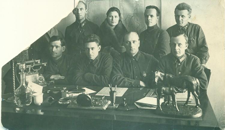 ЧК, 1920 год Фото: предоставлено пресс-службой УФСБ по Красноярскому краю