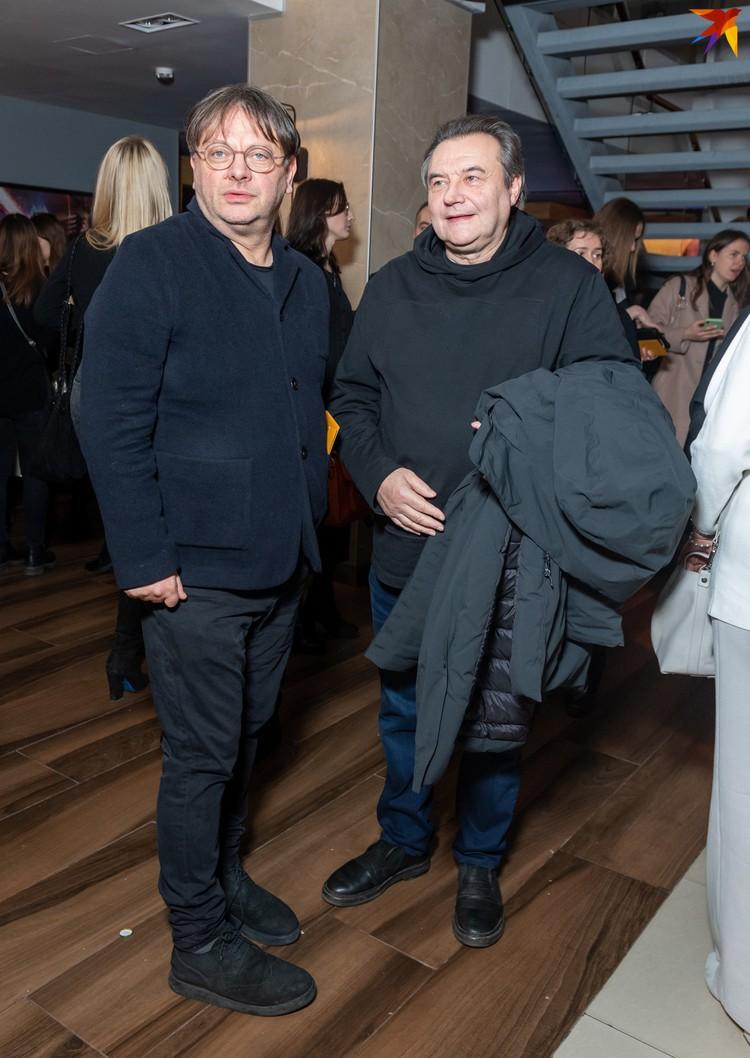 Егор Кончаловский и Алексей Учитель