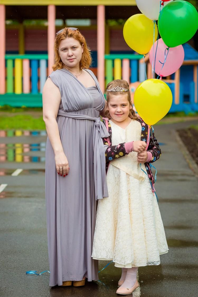 Лишний вес Ангелина набрала после родов. Фото: личный архив.