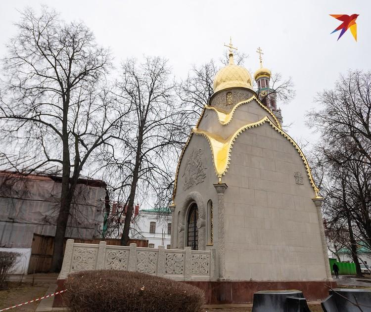 Гробница фабрикантов Прохоровых.