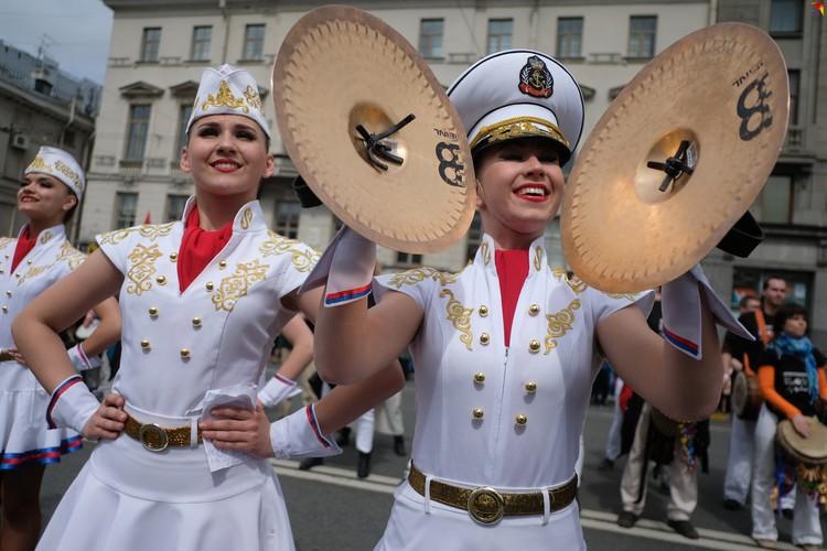 В День города на Невском проспекте.