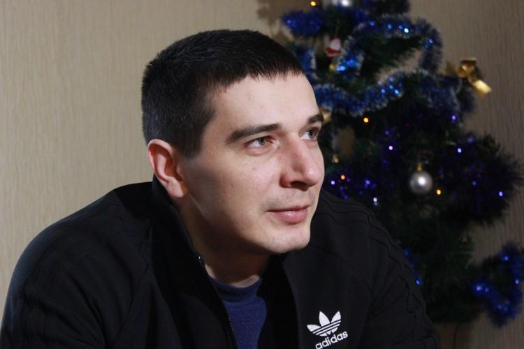 Бывший боец спецподразделения «Беркут» Сергей Зинченко