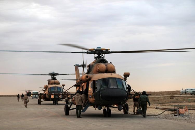 Американская военная база Аль-Асад.