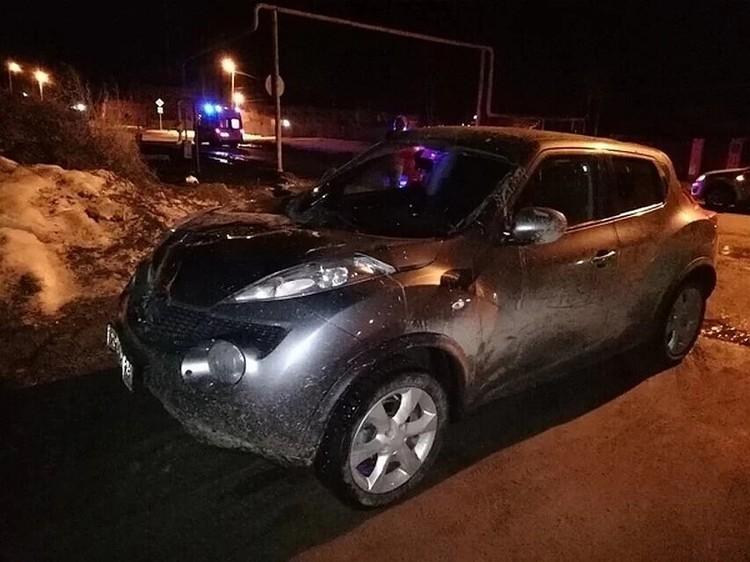 Женщине протаранила девушек на этой машине. Фото: ГУ МВД по Свердловской области