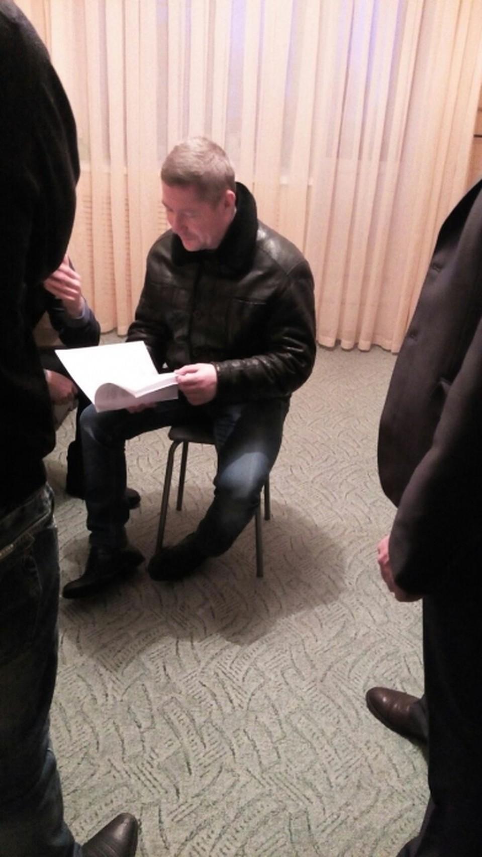 Участник банды Сергей Ванюто. Фото с сайта Следственного комитета России