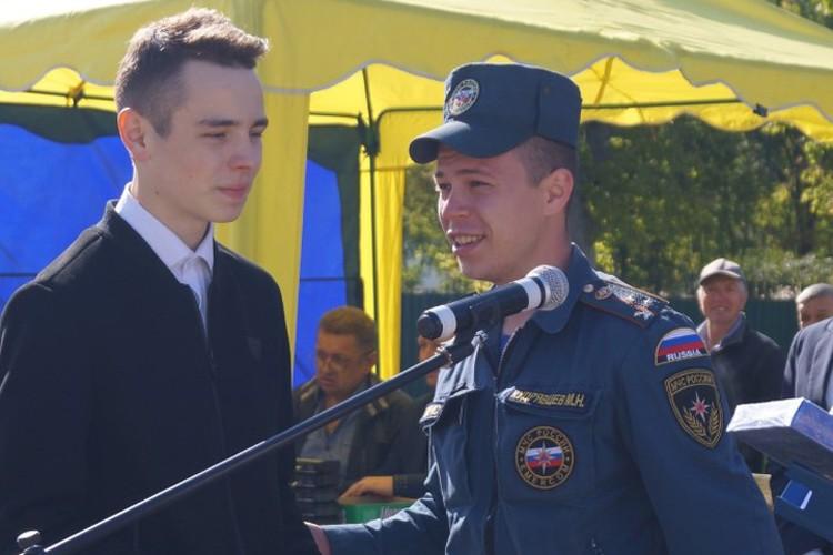 Даниил Баранов был награжден медалью «За содружество во имя спасения»
