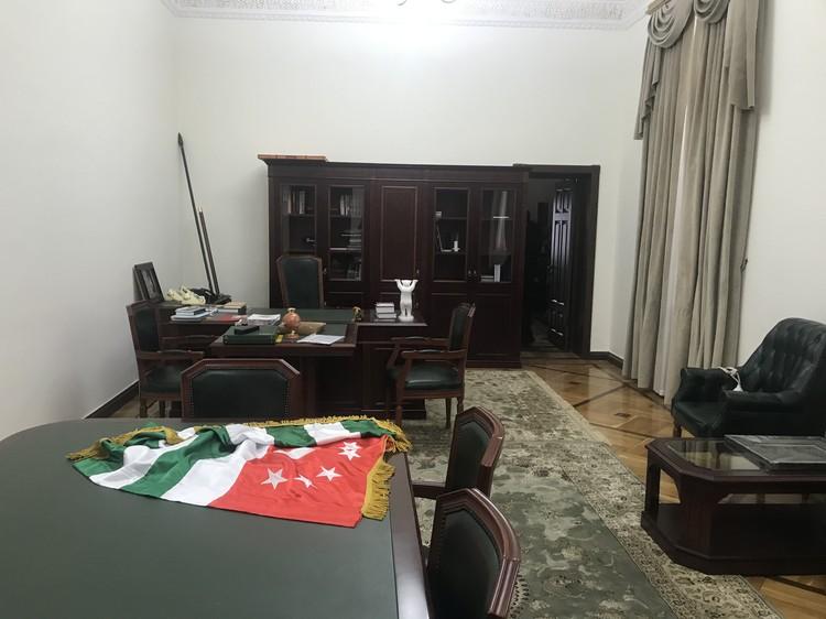 Рабочий кабинет Рауля Хаджимбы