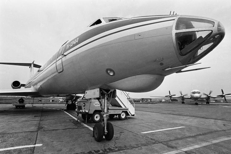 Ту-134 был самым массовым самолетом в СССР.