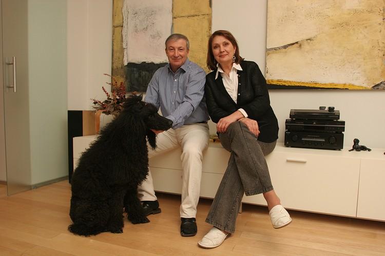 Семен Альтов с женой Ларисой Васильевной.