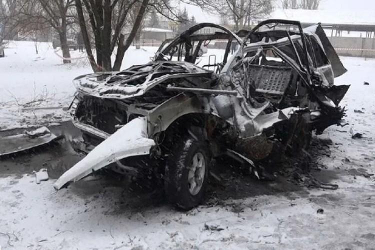 Начальник управления Народной милиции ЛНР Олег Анащенко был взорван в машине вместе с водителем 4 февраля 2017 года. Фото: УНМ ЛНР