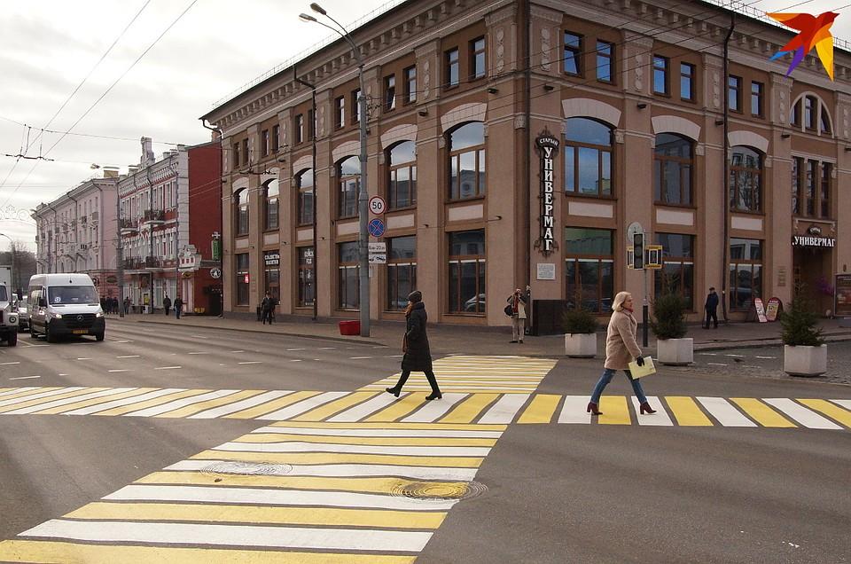 Пешеходы и водители новшеством довольны Фото: Павел МИЦКЕВИЧ