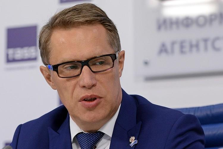 Михаил Мурашко. Фото: Николай Галкин/ТАСС