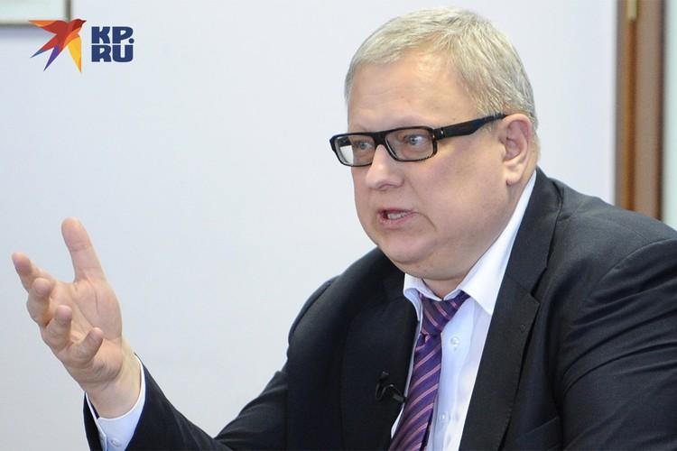 Генеральный директор Государственной корпорации - Фонд содействия реформированию ЖКХ Константин Цицин