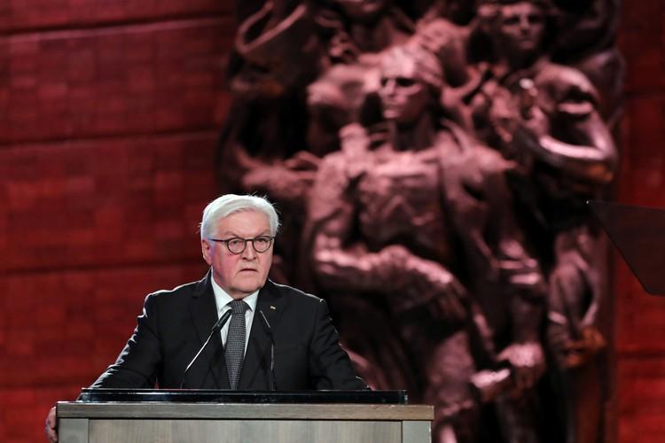 Президент ФРГ Франк-Вальтер Штайнмайер говорил на иврите и каялся за деяния гитлеровцев