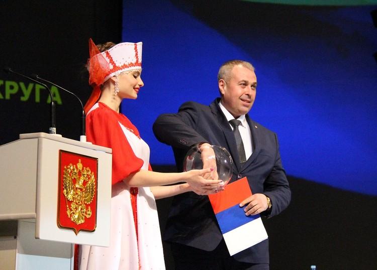 Виктор Аблапов. фото: Пресс-служба администрации Арсеньевского городского округа.