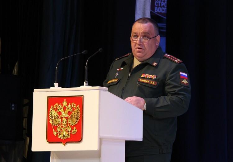 Дмитрий Кащаев. фото: Пресс-служба администрации Арсеньевского городского округа.